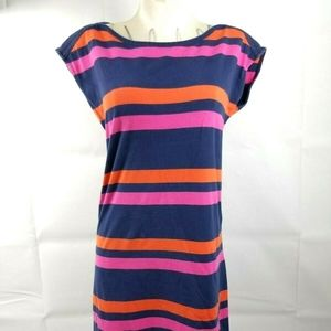 Tommy Hilfiger Women's S/P Blue Pink Dress
